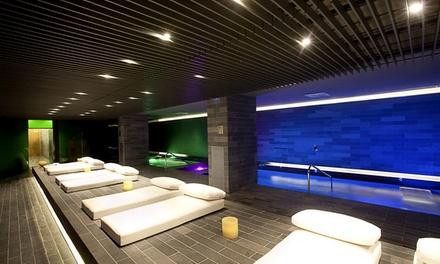 Spa, copa de cava y cama de relajación para 2 con opción a masaje desde 29,90 € en Spa Sensations**** by Hilton La Mola