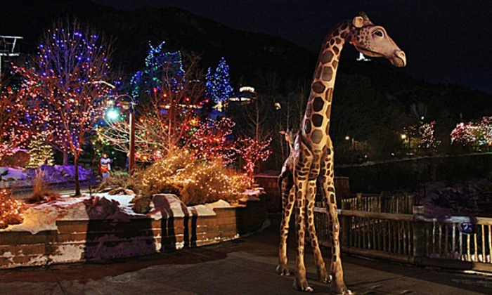 Cheyenne Mountain Zoo - Cheyenne Mountain Zoo: $17.50 for Combo Admission for Two to Electric Safari at Cheyenne Mountain Zoo ($26.50Value). 7 Dates.