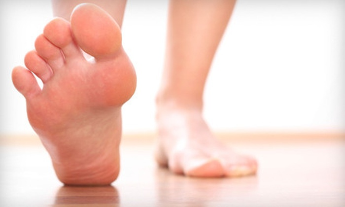 Pedicuria Cosmetic Foot Care - Williamsburg: $175 for One Laser Toenail-Fungus Treatment for Both Feet at Pedicuria Cosmetic Foot Care ($600 Value)