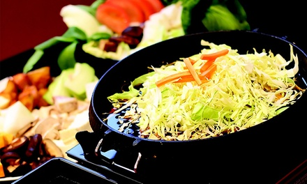 Hot-Pot Dinner with Seafood Udon and Bottomless Virgin Drinks for Two or Four at Posh Restaurant (Up to 50% Off)