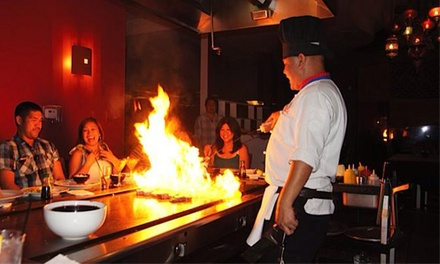 Hibachi Dinner and Drinks for Two, Four, or Six at Osaka Summerlin (Up to 46% Off)