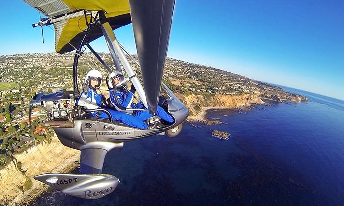 Pacific Blue Air - Hawthorne: $179 for a 45-Minute Open-Air Instructional Flight Experience and a Pacific Blue Air Hat at Pacific Blue Air ($264 Value)