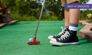 Golf and Games Family Park: Arcade Credit or Arcade, Laser Tag, and Mini-Golf Package at Golf and Games Family Park (Up to 43% Off)