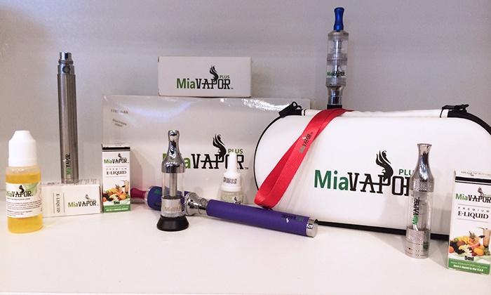 MIA Vapor Plus - Coral Terrace: $9 for $20 Worth of E-Cigarettes and Accessories at MIA Vapor Plus