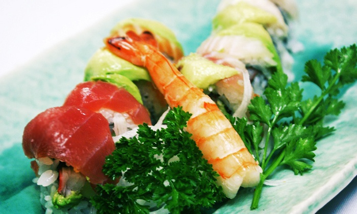 Sushi Hayashi - Town N County Park: $15 for $30 Worth of Sushi and Drinks for Two or More at Sushi Hayashi
