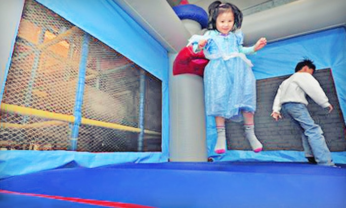 Magical Playground - Pasadena: 5 or 10 Playground Visits or $50 for $150 Toward Birthday Parties at Magical Playground (Up to 67% Off)
