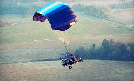 $95 for a 30-Minute Introductory Flight from Peach State Powered Parachutes ($195 Value)