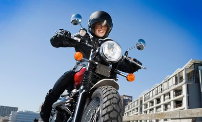 image for Motorcycle Inspection & Oil Change or Storage & Battery Service at Silverback Motorcycles (Up to 53% Off)