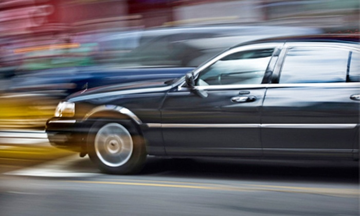 CNH Limousine - New York City: One-Way Transportation to LaGuardia, JFK, or Newark Airport in a Lincoln Town Car from CNH Limousine (Up to 83% Off)