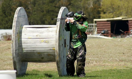 Paintball Package with Rental Gear and Ammo for Two, Four, or Six at Adrenaline Paintball (Up to 53% Off)