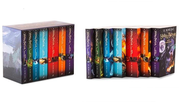Harry Potter Book Box Set Australia : Harry potter box set groupon goods