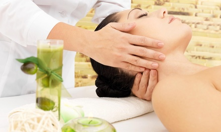 An 60-Minute Acupressure Massage at Light touch Coaching (49% Off)