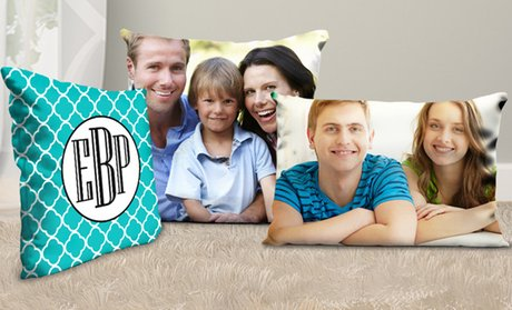 Personalized Pillows from Picture It On Canvas