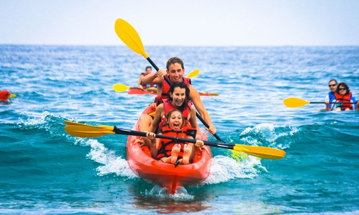 Bike & Kayak Tours - Coronado: 90-Minute Coronado Double-Kayak Rental or Tour for Two from Bike & Kayak Tours (Up to 51% Off)