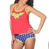 Undergirl X DC Comics Wonder Woman Cami Panty Set with Lace Trim