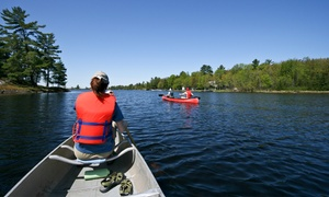 Riverview Ranch: Canoe Trip with Optional Camping for Two or Four or Raft Rental for Six from Riverview Ranch (Up to 50% Off)