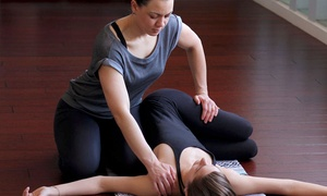Creative Wellness Strategies: 60 Minutes of Private Therapeutic Yoga with Optional 60-Minute Massage at Creative Wellness Strategies (23% Off)