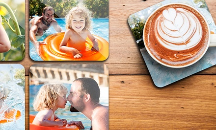 Custom Photo Coaster Sets from $9.99—$19.99