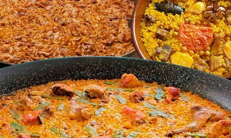 Socarratt: paella, arroz o fideuá para llevar desde 29,95 € en Chueca