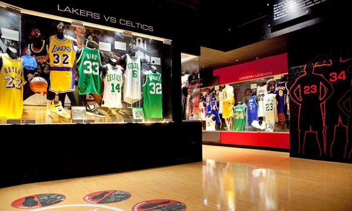 SCORE! - Luxor Hotel & Casino: Admission for One or Two to the Score! Interactive Sports Exhibit (Up to 45% Off)