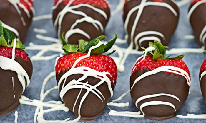 CherryBerry/Paradise Chocolates - Far West Wichita: $12 for One Dozen Chocolate-Covered Strawberries at CherryBerry/Paradise Chocolates ($24 Value)