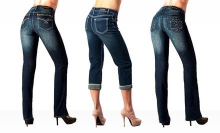 Tru Luxe Women's Denim. Multiple Colors and Styles Available. Free Returns.