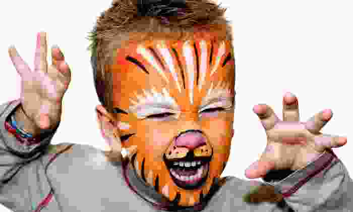 Magic Brush - Toronto (GTA): Two-Hour Party for 20 Kids with Face Painting, Balloon Animals, and Optional Bouncy House from Magic Brush (Half Off)