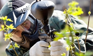 Survival Game of Texas: All-Day Paintball Play for 2, 4, 6, or Up to 10 at Survival Game of Texas (Up to 61% Off)