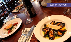Ingram Wynd: Lunch For Two (£12.50) or Four (£24) People With Soft Drink Each at Ingram Wynd (Up to 55% Off)