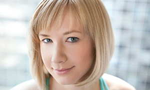 About Beauty: Haircut Package with Deep-Conditioning Treatment and Optional Color or Full Highlights at About Beauty (Up to 68% Off)