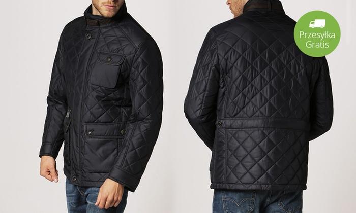 023f4928f8753 Pikowana kurtka męska: M-5XL | Groupon