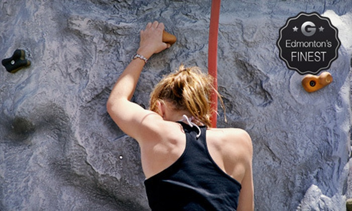 Vertically Inclined Rock Gym - Coronet Addition Industrial: Rock-Climbing Course for Two, or Five Climbing Sessions with Gear at Vertically Inclined Rock Gym (Up to 52% Off)