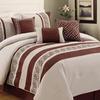 6-Piece 100% Cotton Greek Key Comforter Set