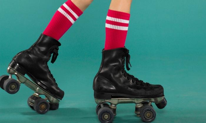 Interskate Roller Rink - Lewisville: Roller Skating Package for Two or Four at Interskate Roller Rink (Up to 66% Off)