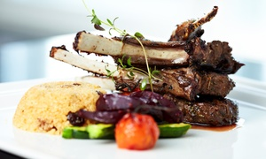 Café St Louis: Two-Course Meal with Wine for Two or Four at Café St Louis (Up to 58% Off)