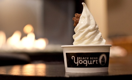 $12 for Four Groupons, Each Good for $6 Worth of Frozen Yogurt at Black Bear Frozen Yogurt & Espresso ($24 Value)