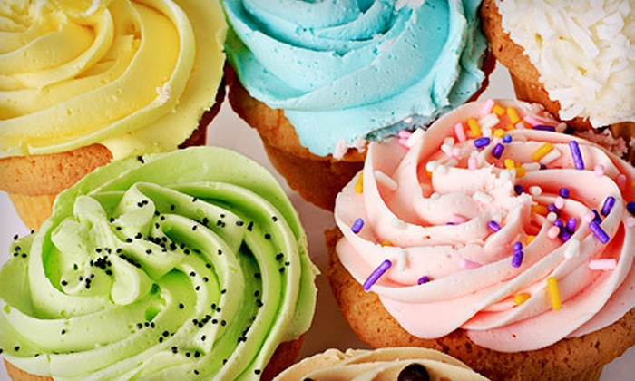 Edible Art Bakery and Dessert Cafe - University: $16 for One Dozen Cupcakes at Edible Art Bakery and Dessert Cafe ($32 Value)