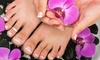 Prestige Salon & Spa - Sharonville: One or Two Gel Manicures with Designs or One Mani-Pedi at Prestige Salon & Spa (Up to 62% Off)