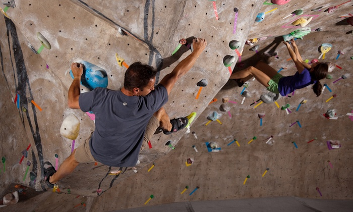 Climbmax Climbing Gym - Climbmax Gym: One-Day Rock-Climbing Pass with Gear Rental for One or Two at Climbmax Climbing Gym (Up to 52% Off)