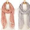 Lightweight Long Mesh Net Scarves