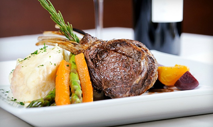 The Vintage Steakhouse - Little Hollywood: $59 for Four-Course Dinner for Two at The Vintage Steakhouse (Up to $115 Value)