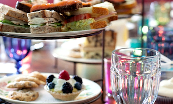 Alice's Tea Cup - New York: Mad Morning Tea Breakfast for Two or Drinks and Sweet Treats from Alice's Tea Cup (Up to 43% Off)