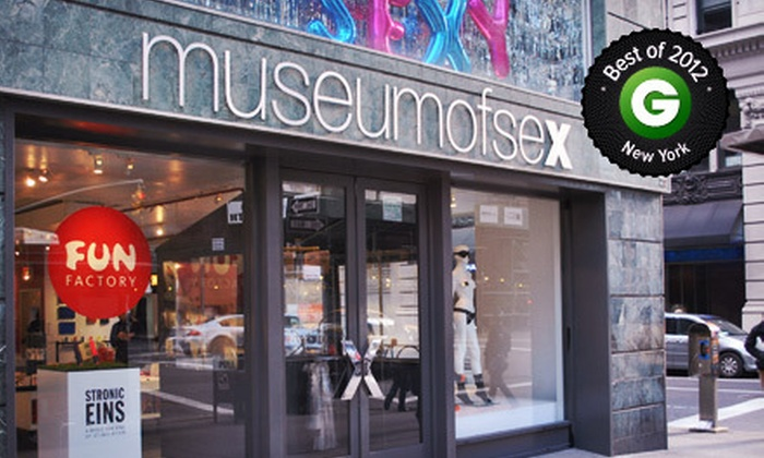 Museum of Sex - Flatiron: Visit for Two, Four, or Six to the Museum of Sex (Up to Half Off)
