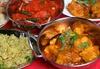 King of India  - King of Inida: Traditionelles indisches 8-Gänge-Menü für 2 oder 4 Personen im Restaurant King of India (bis zu 71% sparen*)