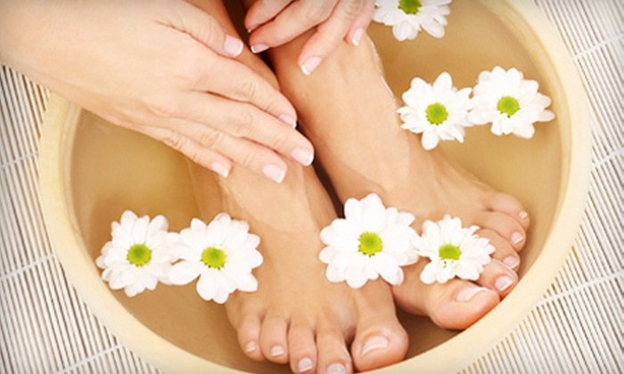 Queen Nail - Knoxville: One or Three Spa Manicures and Pedicures with Cucumber Mint Scrubs at Queen Nail (Up to 51% Off)