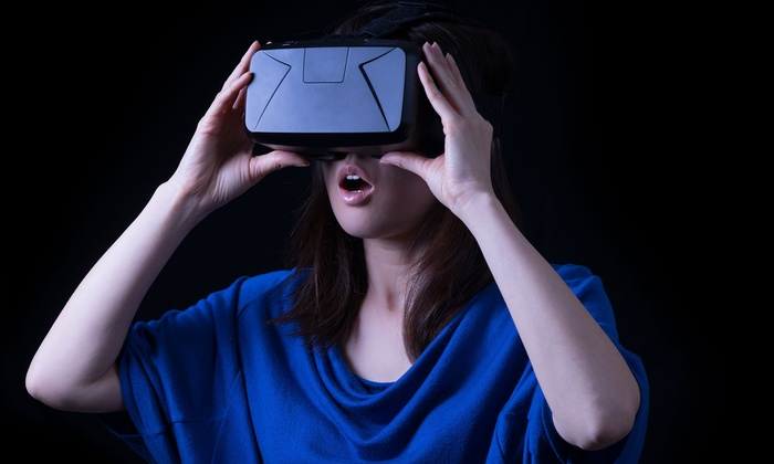 Virtual Reality Game Play at Zion VR (Up t o52% Off). Five Options Available.