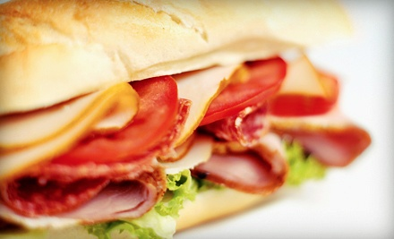 $7 for Two Groupons, Each Good for $6 Worth of Sandwiches at Stars Sandwich Market ($12 Total Value)