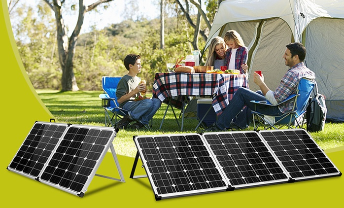 From $189 for a Foldable Solar Panel (Don't Pay Up to $999)