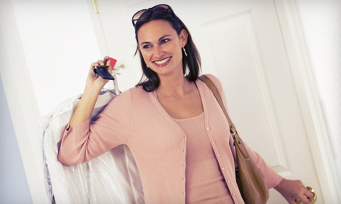 Green Lux Cleaners - Multiple Locations: Organic Dry Cleaning at Green Lux Cleaners (52% Off). Two Options Available.