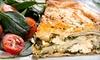 Stratos Greek Taverna - Dallas (Love Field): $11 for $22 Worth of Greek Food at Stratos Greek Taverna